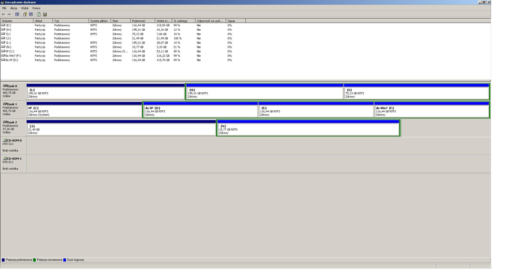 ST340015A - Uszkodzona partycji systemowa oraz odzyskanie danych z partycji