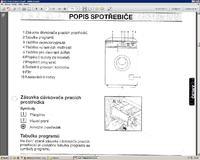 elektrolux EW815F - na jakim programie grzeje wode w 70 stopni