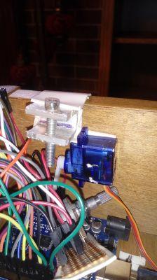 Blokada szuflady na arduino