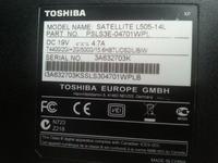 Toshiba Satellite L505-14L - Brak dostępu do partycji po formacie i recovery
