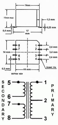 [Sprzedam] Miniaturowe transformatory audio SMD (PICO 76380)