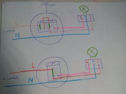 oświetlenie, PIR - włączanie światła alternatywnie PIR / włącznik