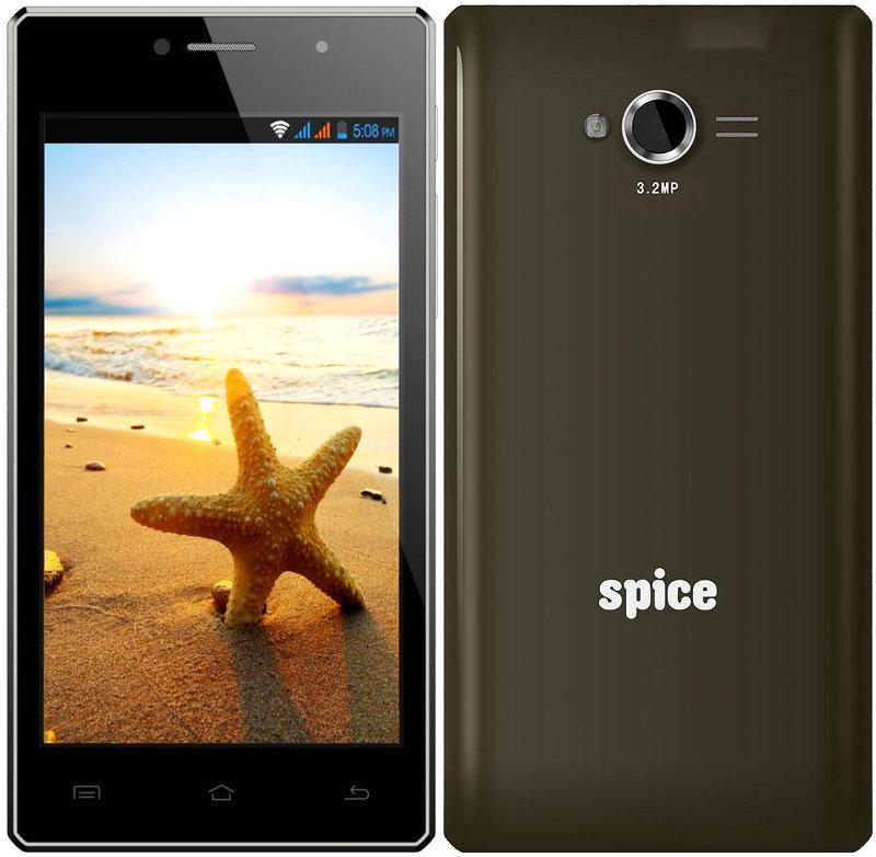 "Spice Stellar 449 3G- niedrogi smartphone z 4,5"" ekranem, Dual SIM i KitKat"