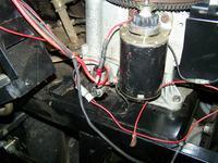 Silnik Briggs 13HP 28M707 - brak ładowania