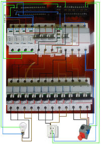 Instalacja elektryczna w domku jednorodzinnym. TN-C-S
