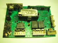 Indesit WISL 105 (PL.1) - Identyfikacja elementów modułu sterującego