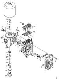 Scania R - czujnik cisnienia powietrza