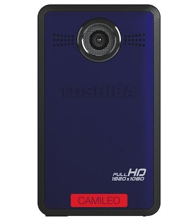 Toshiba Camileo Clip X400 - kieszonkowa kamera Full HD