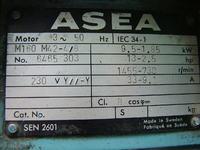 Silnik 9,5 kW  specyficzny (230 Y//-Y)-jak zasili�
