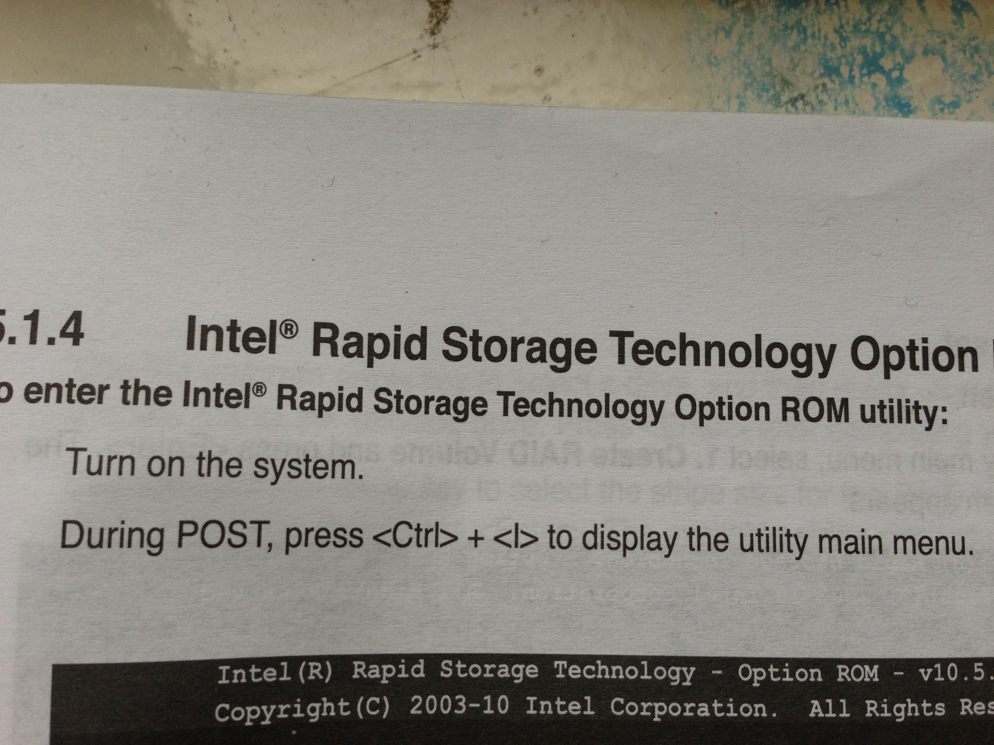 Raid 0 na SSD. Brak konfiguratora Raid