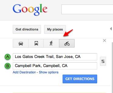 Google Maps wprowadza mo�liwo�� tworzenia �cie�ek pieszych i rowerowych
