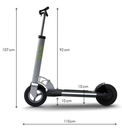 GreenReflex MyWay - elektryczny skuter o zasi�gu 25 km