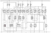 Schemat elektryczny wiatraków chłodnicy opla vectry b x16xel