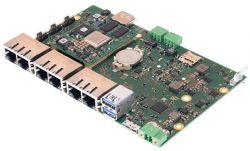 MBLS1028A-IND - jednopłytkowy komputer z TQMLS10128A i 4-portowym switchem