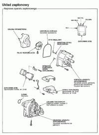 Honda Accord V 2.0 F20Z1 Czujnik k�ta obrotu wa�u korbowego.