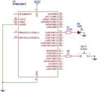 ATMega8 - Zadanie na automatyczne usypianie ATMegi