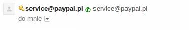 """Gmail """"Nadawca tej wiadomo�ci zosta� zweryfikowany"""""""