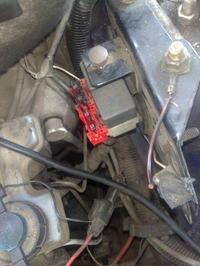 Brak zasilania pompy paliwowej <Fiat Uno>
