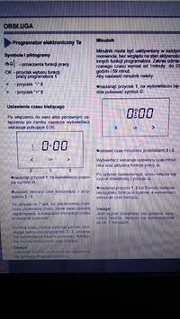 Amica 58GE3.33HZPTADNAQXX - Ustawienie zegara w piekarniku