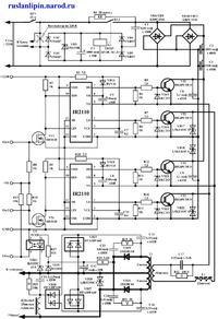 схема инверторной сварки - Практическая схемотехника.