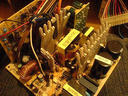 Naprawa ATX COMPAQ 161071-001 po przełączeniu na 110V