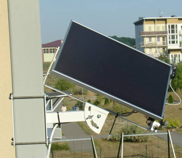 Amatorski Solar Tracker Elektrodapl