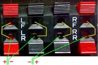 Wzmacniacz Blaupunkt BXA 500 jak podłączyć zestaw