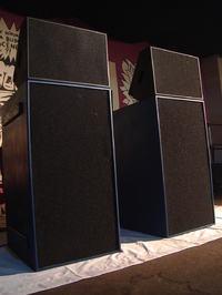 Kolumna sub-basowa na głośnikach KAPPA PRO-15LF-2