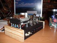 Gitarowy wzmacniacz lampowy na 6N2P i 6P14P