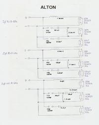 Schematy zwrotnic głośnikowych.