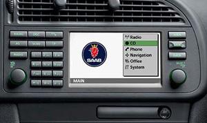 Saab 9.3 ICM-3 radio/navi potrzebny wsad