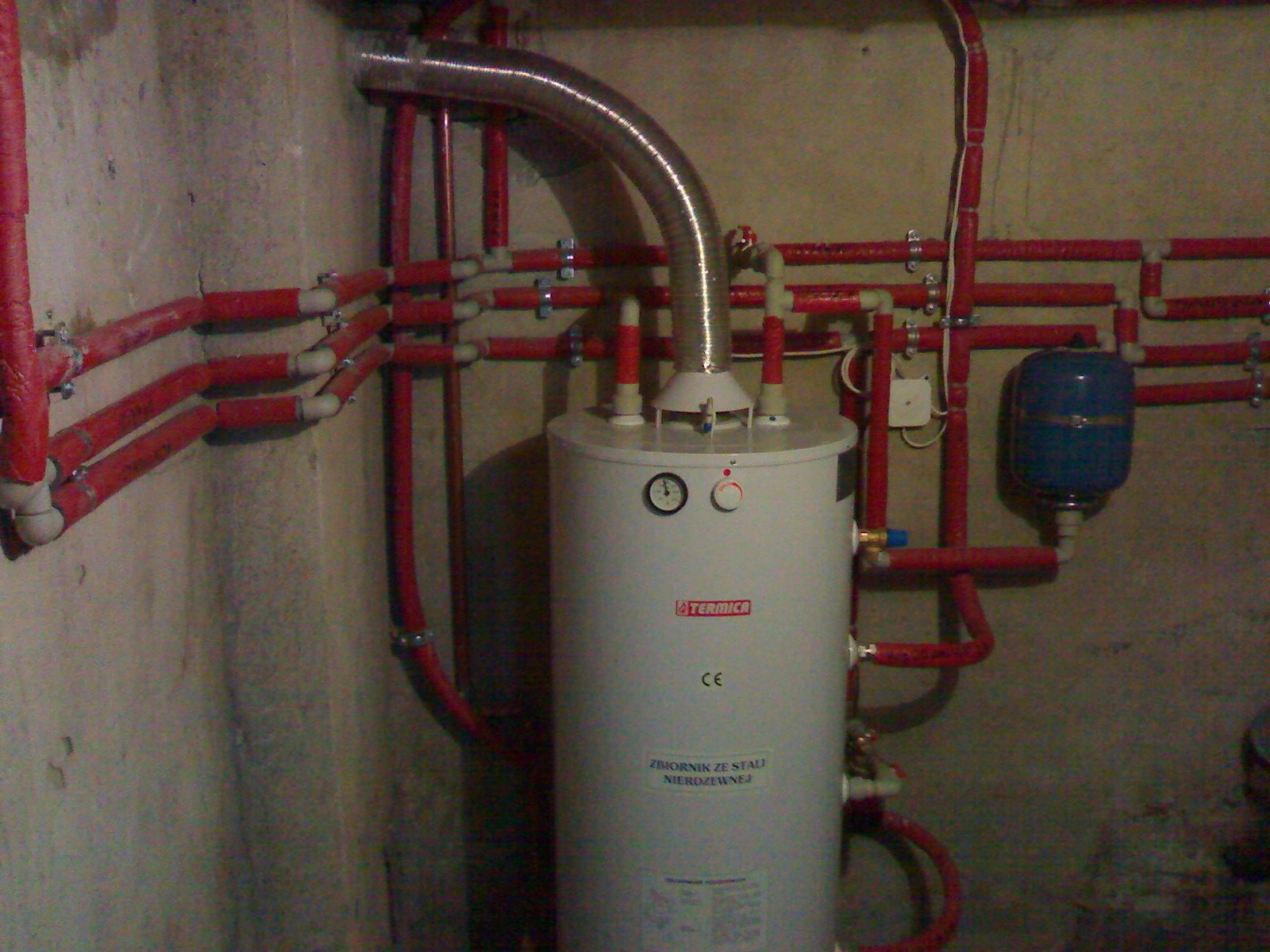 Poważnie Podłączenie bojlera do istniejącej instalacji CO - elektroda.pl AK12