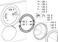 Pralka Polar pfl 800 - zablokowane drzwiczki