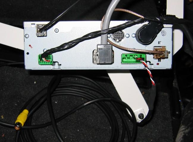 wej cie monitora nawigacji rti volvo a sygna z vga rh elektroda pl