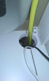 Płyta gazowa nad piekarnikiem elektrycznym, jaki przewód gazowy, co z elektryka?