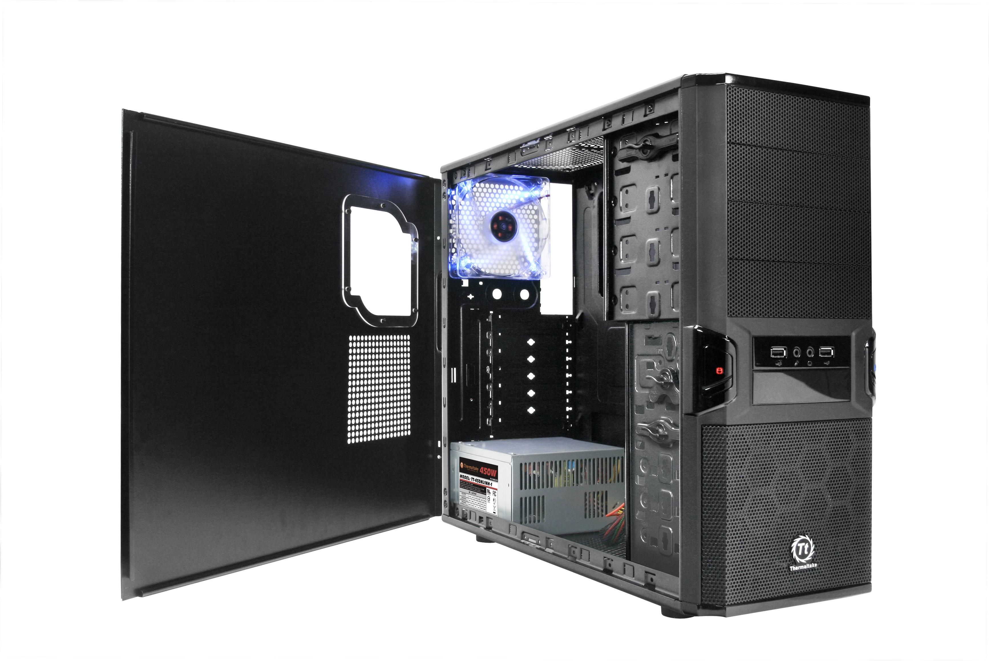 Thermaltake V3 BlacX Edition - obudowa ATX ze stacj� dokuj�c� dla HDD