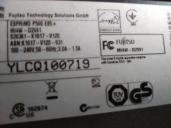 Komputer Fujitsu p500 nie działa