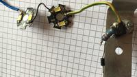 Zasilanie dwóch diod LED z akumulatora samochodowego (wymiana przepalonych)