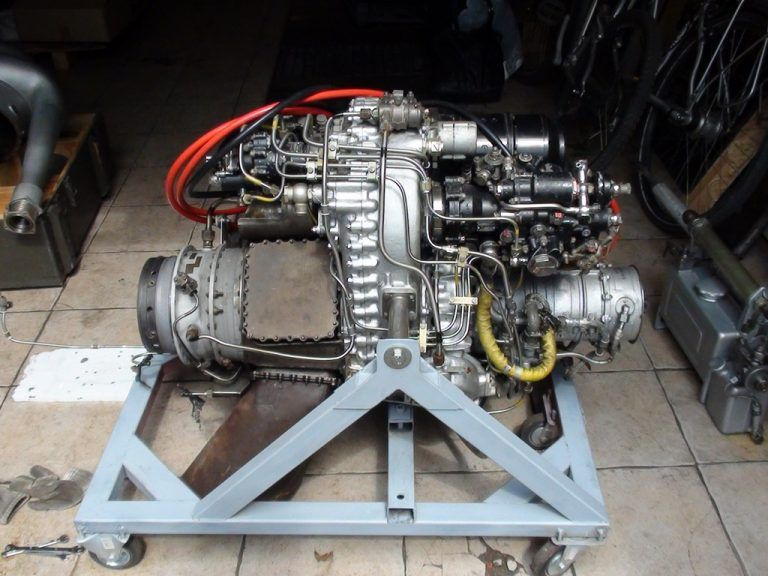 Silnik turbinowy GTD350 od Helikoptera MIL-MI2