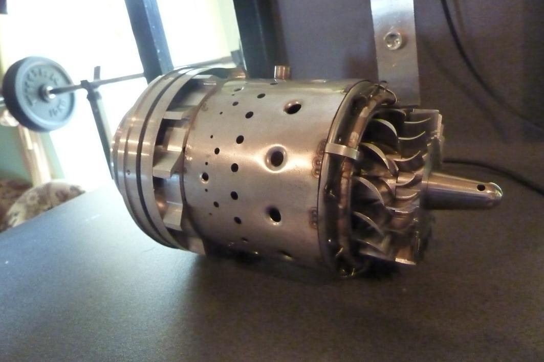 Model Jet Engine Diy