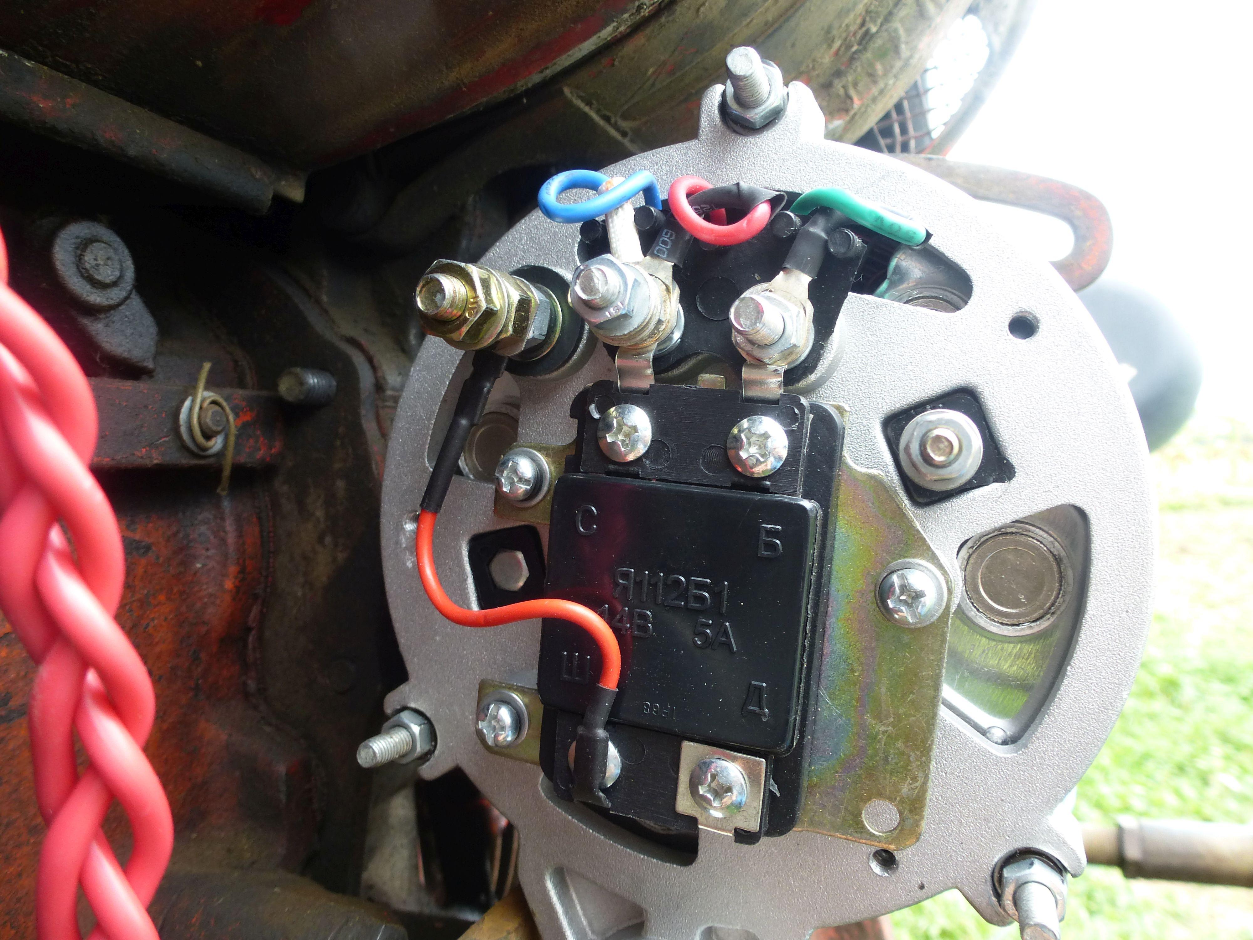 T25 - Regulator alternatora