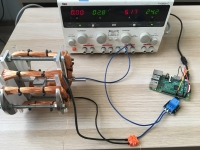 Własny silnik bezszczotkowy - Pomiar prądu