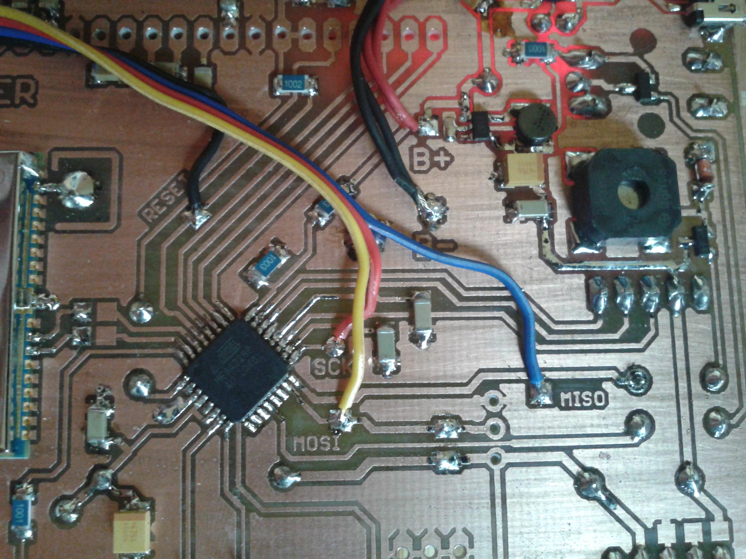 Atmega328P Brak komunikacji z procesorem