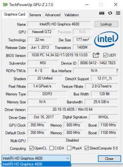 GTX 1060 Aorus Xtreme problemy z wykryciem