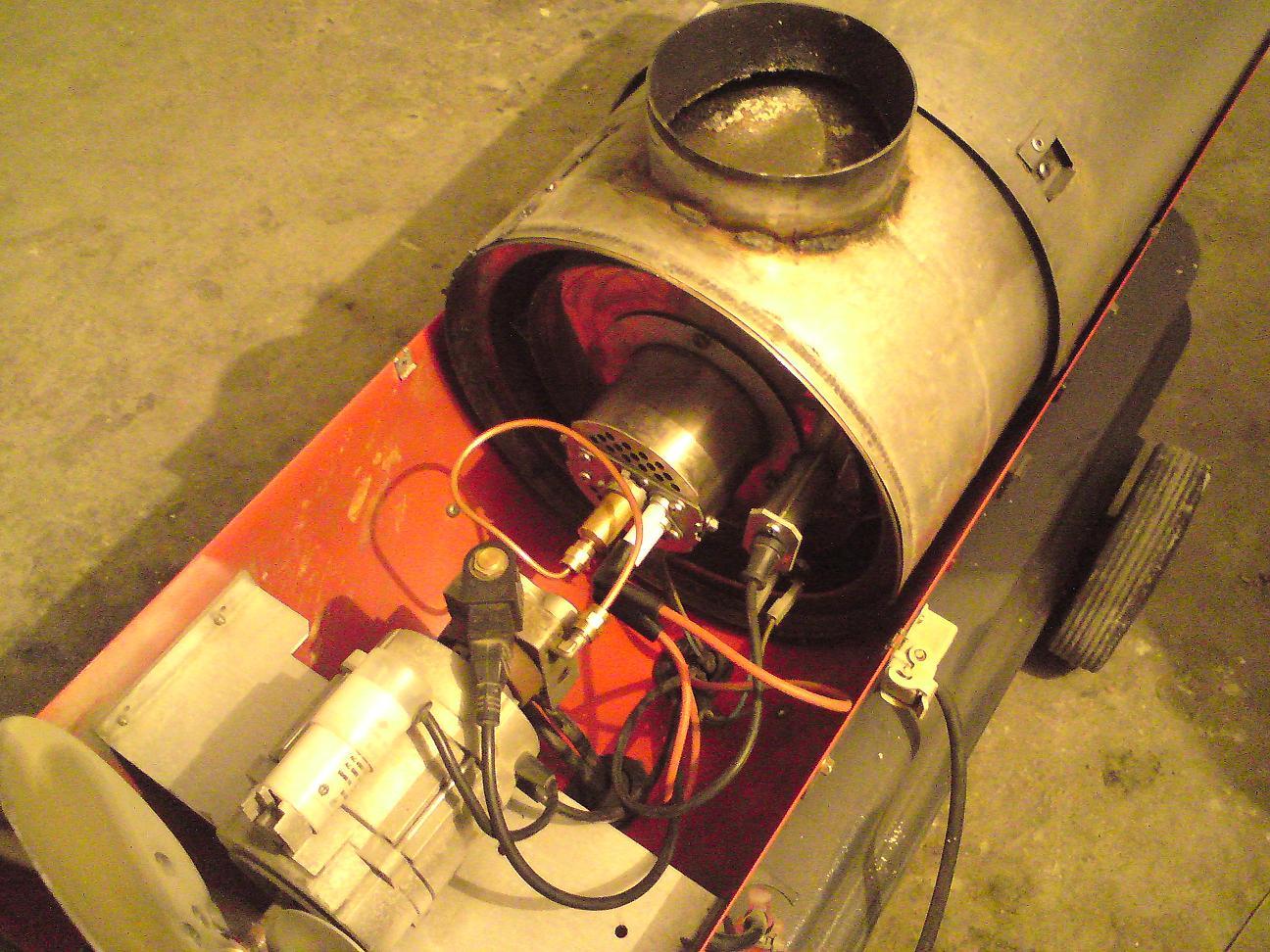 Ogromny Nagrzewnica Antares 25, gaśnie po chwili pracy - elektroda.pl BT06