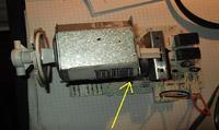 Pralka Electrolux EWT 810 - brak obrotów silniczka programatora