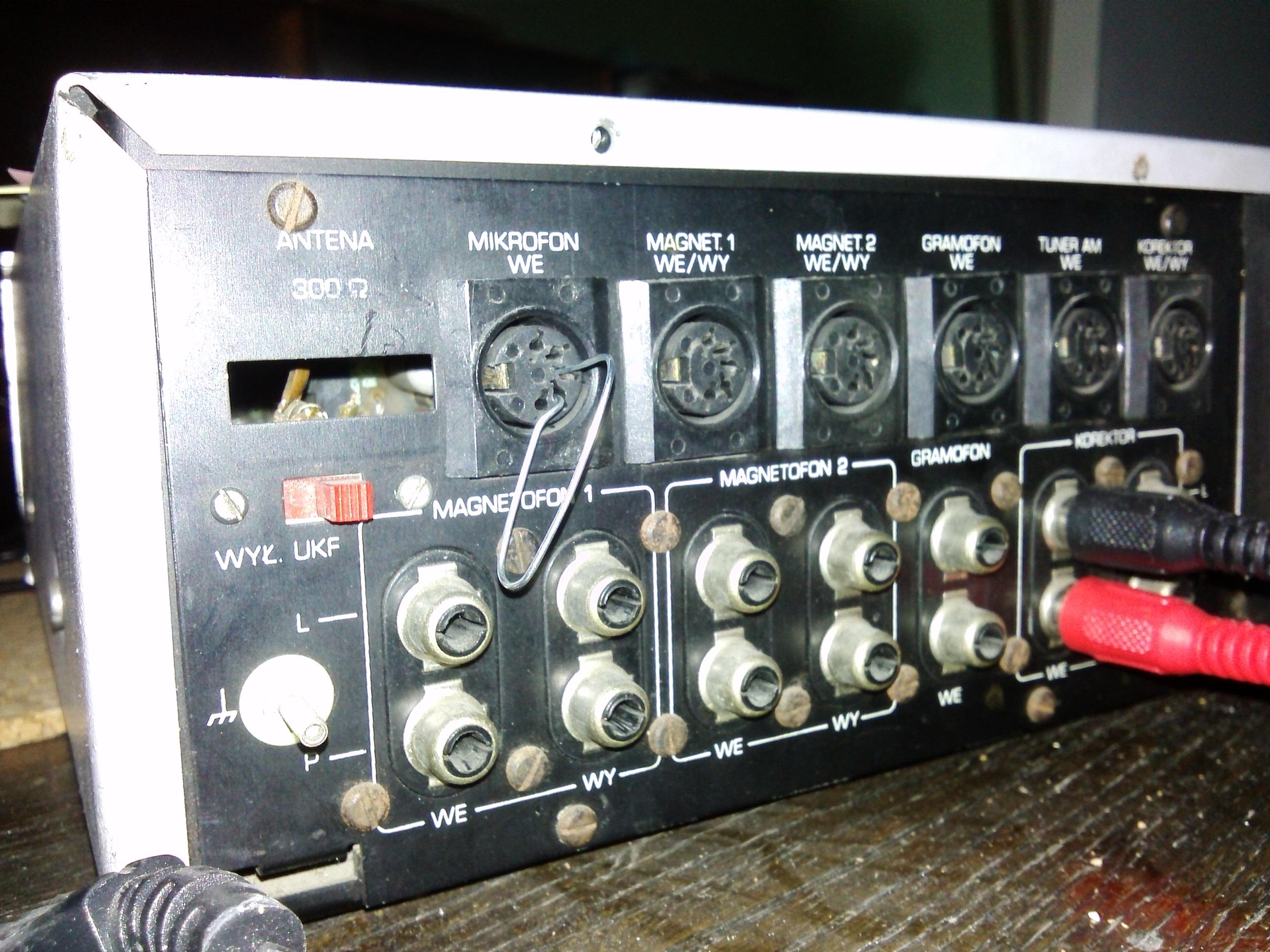Radmor FM5412 - Nie dzia�a mikrofon