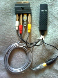 Użycie nagrywarki tej samej firmy oraz magnetowidu.