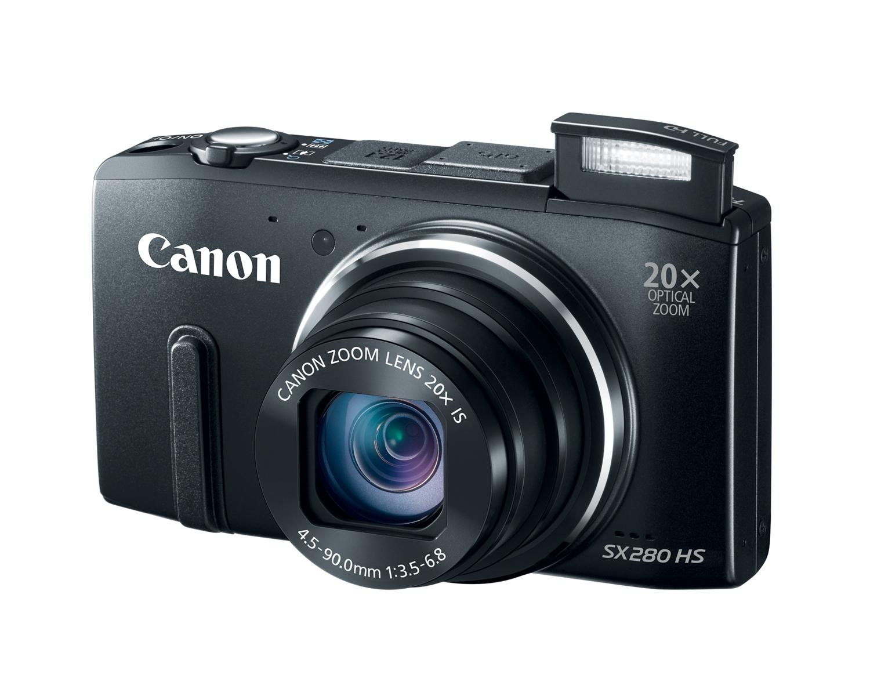 Canon SX280 HS - kompaktowy aparat cyfrowy, 20-krotny zoom, ISO 6400 i Wi-Fi