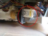 Zmywarka AEG 60010 VI - błąd ,20